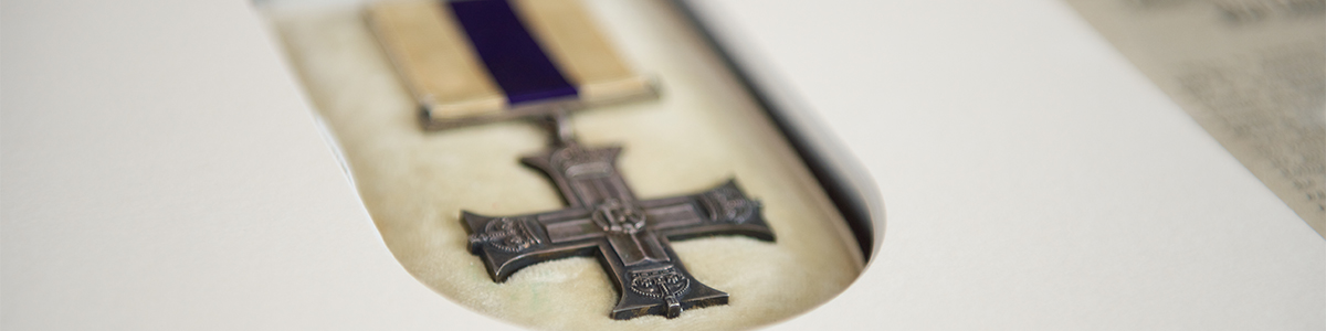 Framing of a Military Cross